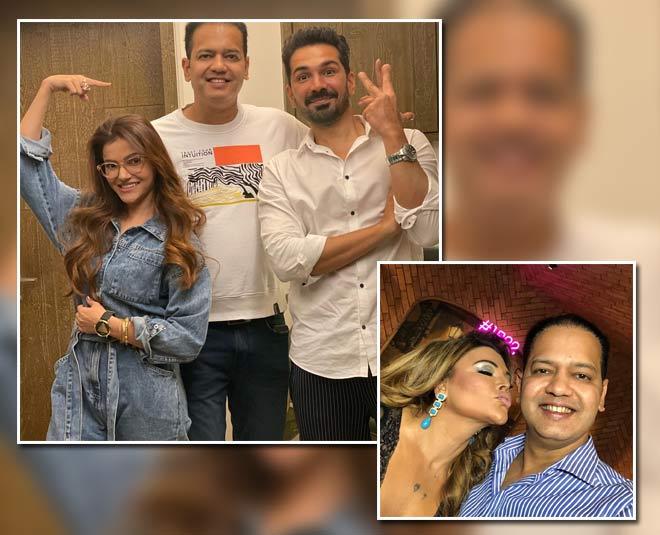 bigg boss  party hosted rakhi rahul