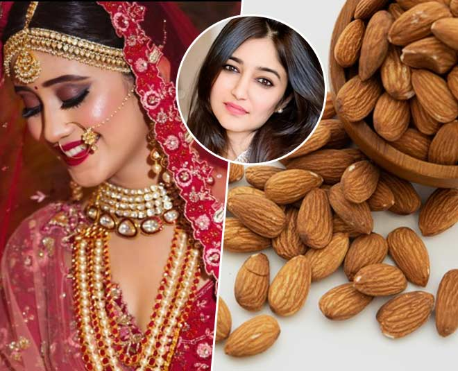bridal glow with almond main
