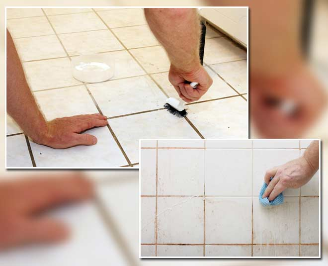 clean tile grout tips