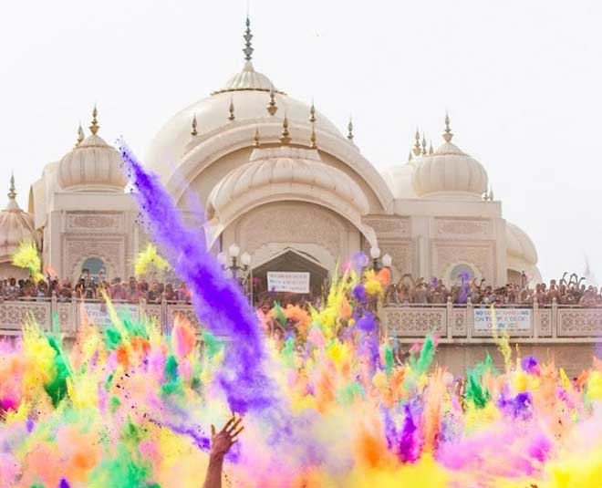 different holi celebrations in india about