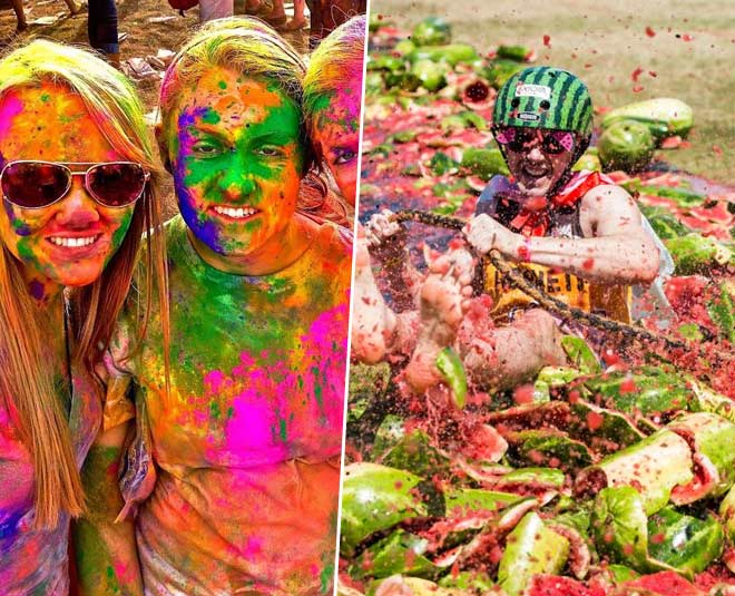 different holi celebrations in world know