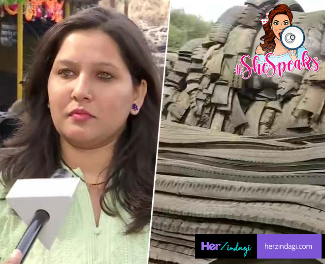 entrepreneur pooja badamikar upcycles scrap tyres to make footwear story