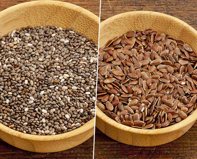 flax seeds vs chia seeds m