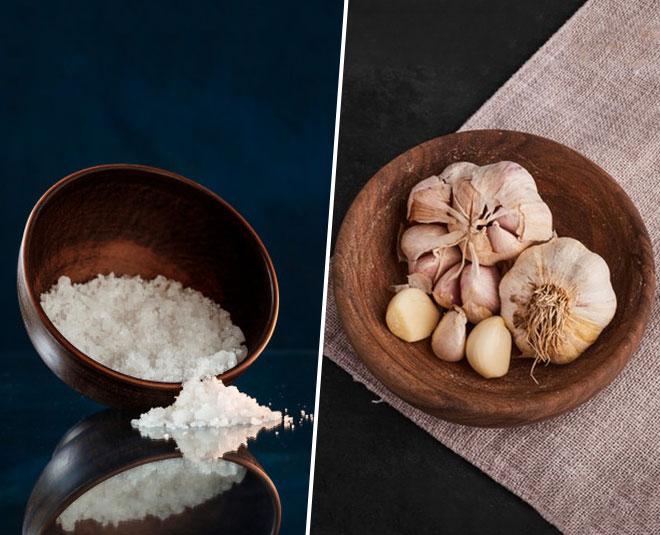 garlic and salt benefits