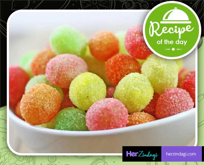 grapes candy recipe at home