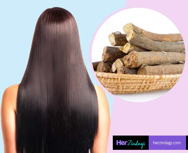 hair  care  routine  with  mulethi