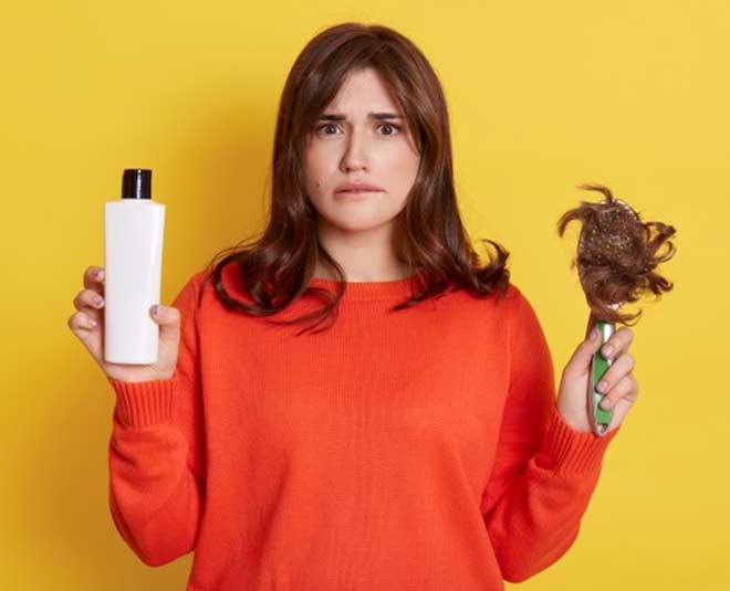 hair falling dry shampoo