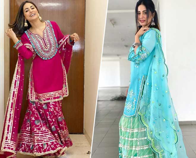 hina khan dress style