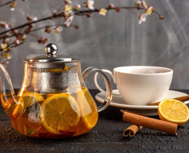 lemon tea for health