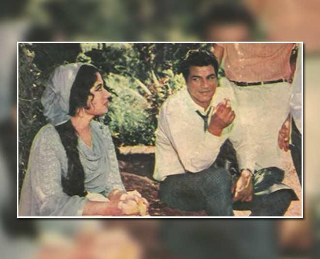 meena kumari old pics with dharmendra