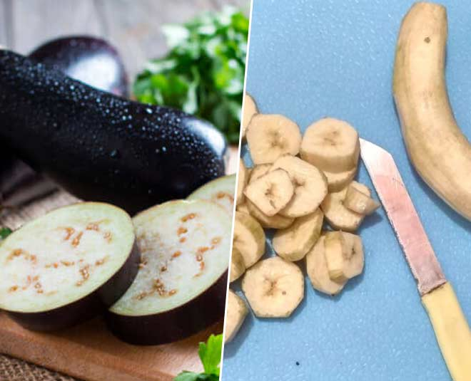 prevent brinjal and raw bananas from turning black tips