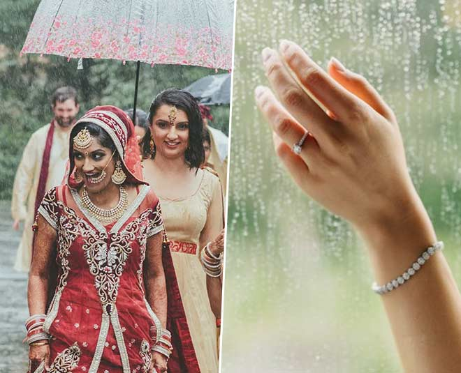 rainy wedding day planning m