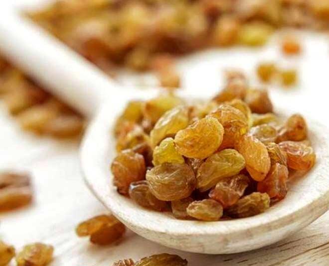 raisins for skin m