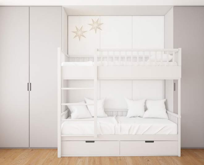 some creative ways to decorate bunk bed