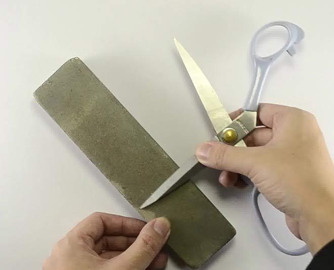 tips to sharpen scissors