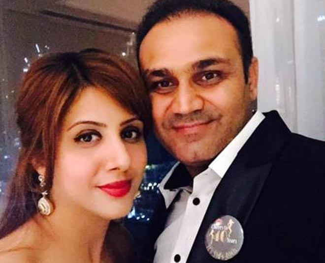 virendra sehwag and wife