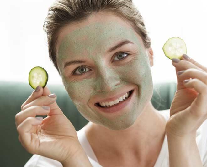 apply cucumber face pack www.worldcreativities.com