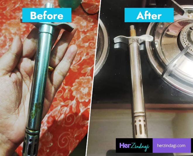 clean tips for gas stove lighter