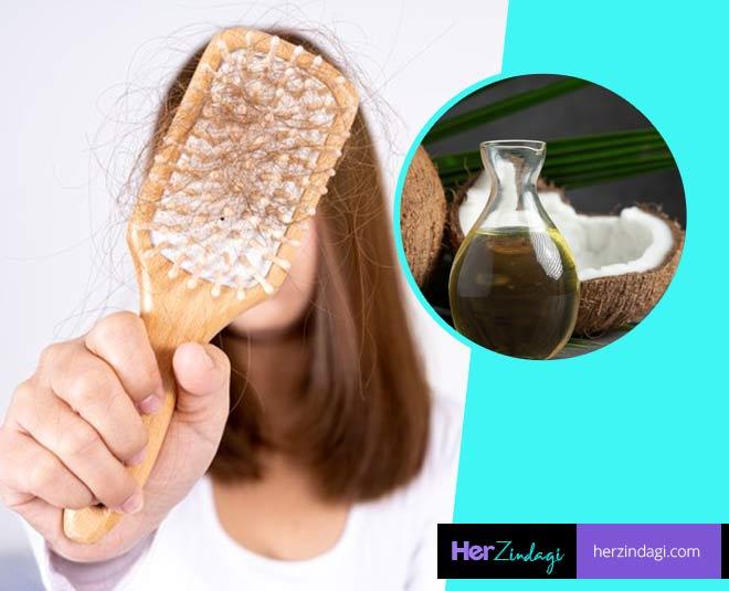 coconut oil for hair loss main