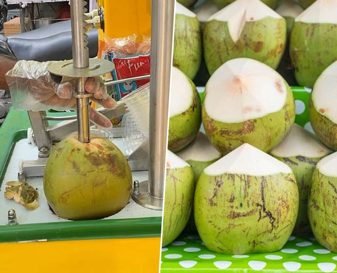 coconut water cart indore hygienic
