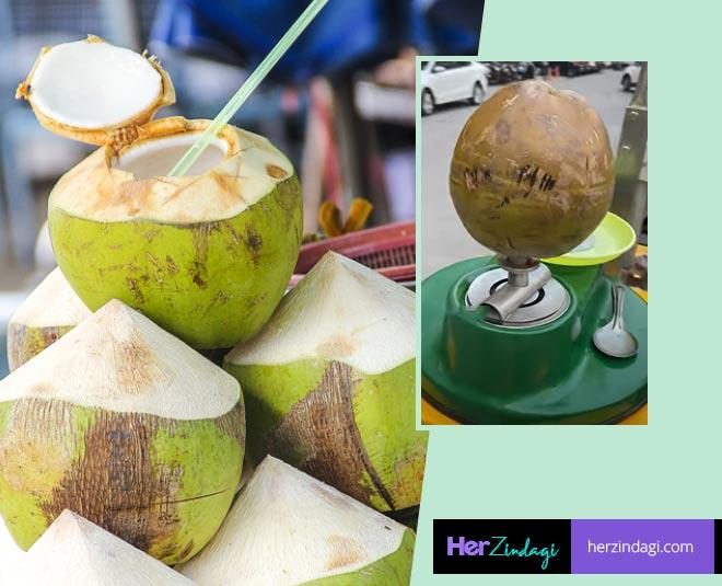 coconut water cart
