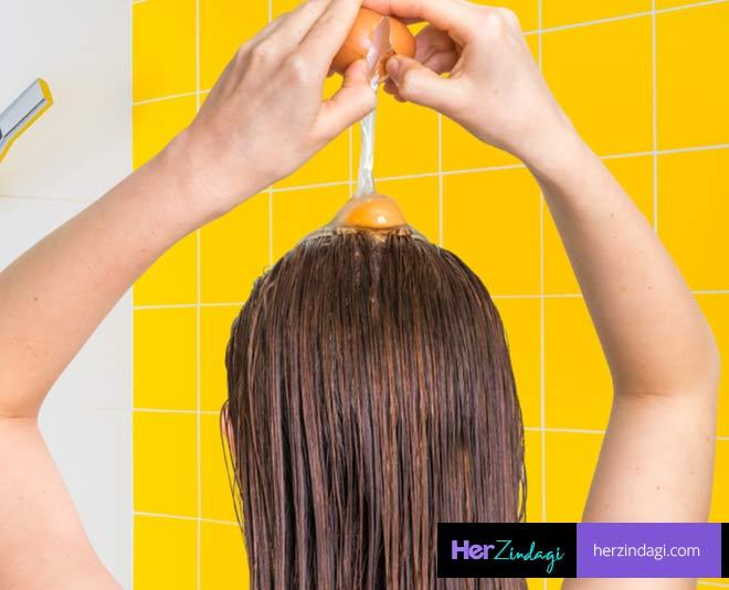 egg on hair how long