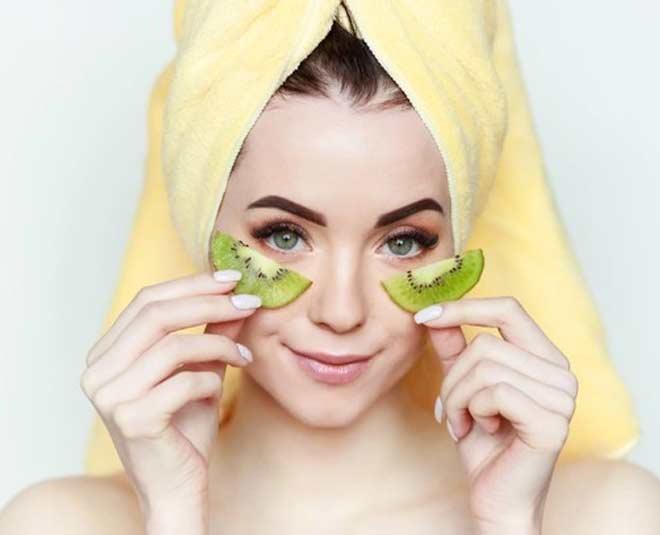 homemade kiwi face pack