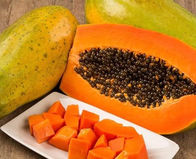 ripen green papaya at home
