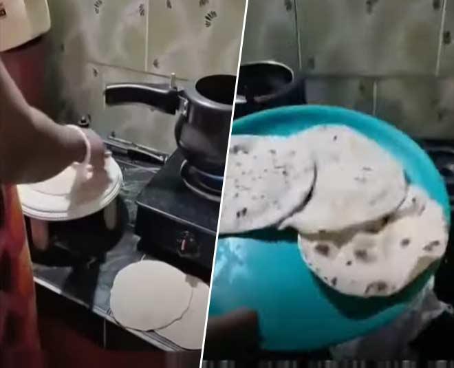 roti viral video
