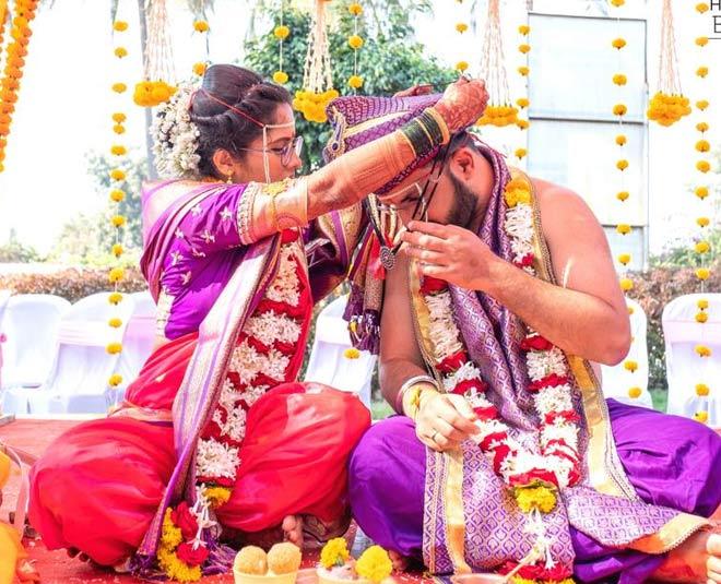 trending couple shardul tanuja mangalsutra