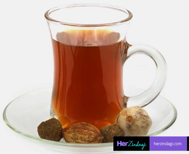 triphala  water empty  stomach at morning