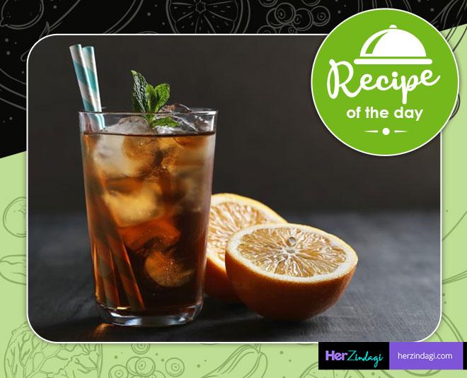 tulsi tea cooler recipe summer drink